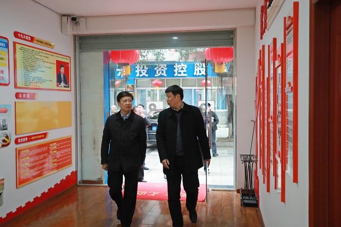 區黨工委書記鄒若力調研公司時強調:著力提升四種能力助推區域經濟高質量發展